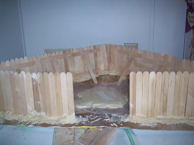 Making a Jamestown Fort