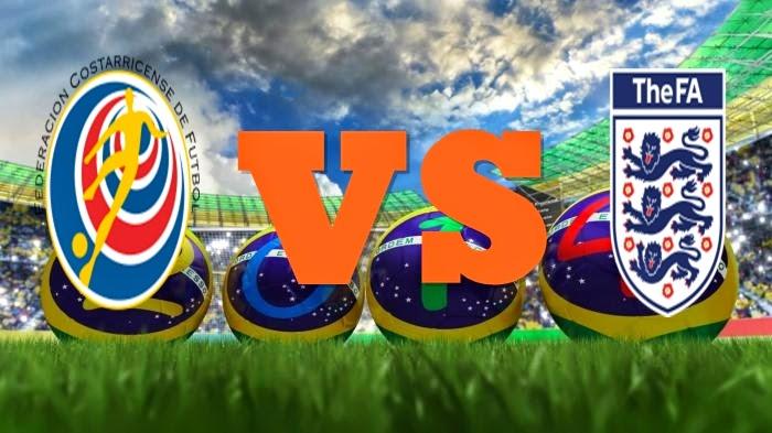 Prediksi Skor FIFA World Cup Terjitu Kosta Rika vs England jadwal 24 Juni 2014