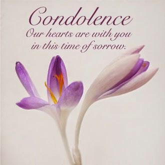 Message de condoléances en anglais ~ Message de condoléances   sms