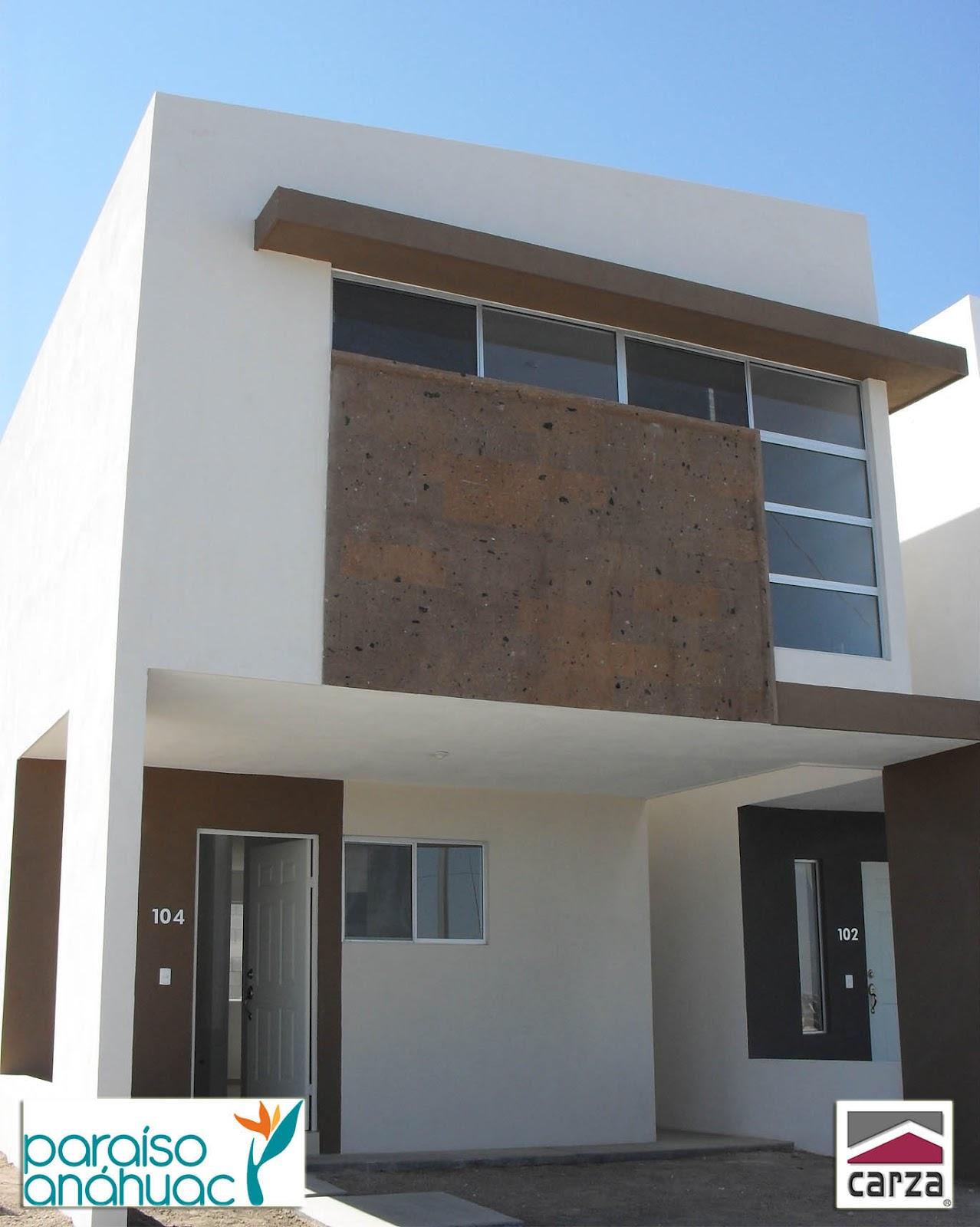 Fachadas de casas modernas fachadas modernas y for Fachadas con azulejo