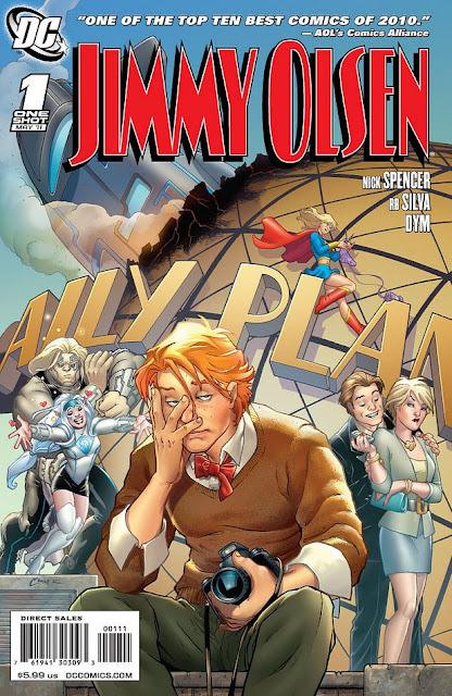Jimmy Olsen - Nick Spencer RB Silva