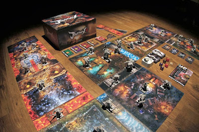 board game kickstarter news Journey wrath of demons