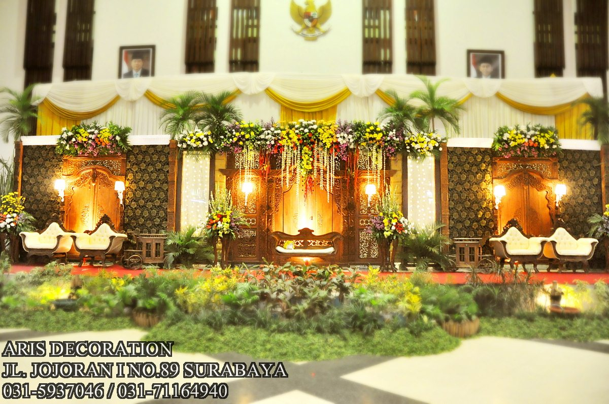 Indonesian wedding decor galery aris decoration indonesian wedding decor aris decoration junglespirit Image collections
