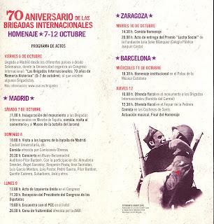 Díptic de la trobada del 70è aniversari.
