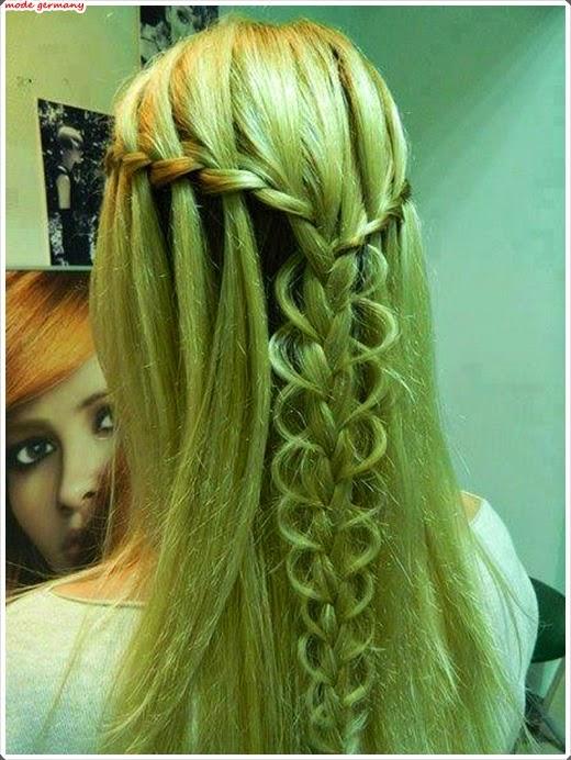 Elegante Zopf Modelle für Ihr Haar 2014