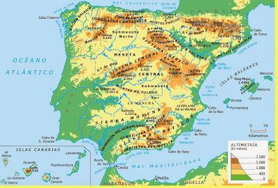 Ciencias Sociales Mapas interactivos de Enrique Alonso Relieve