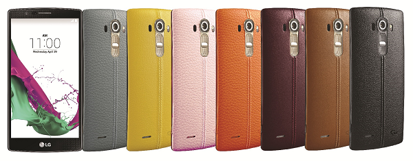 LG G4 Leather-back Cover