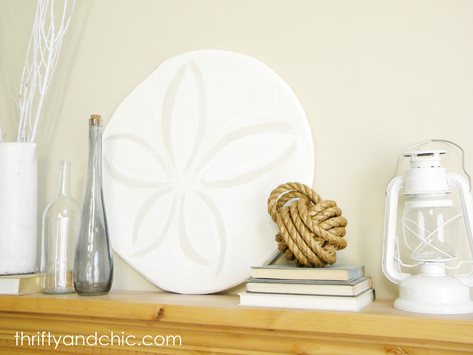 Thrifty and chic diy projects and home decor diy sand dollar reviewsmspy