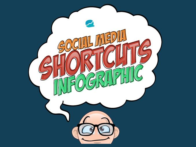 infographic: Use Social Media Shortcuts To Save Your Time