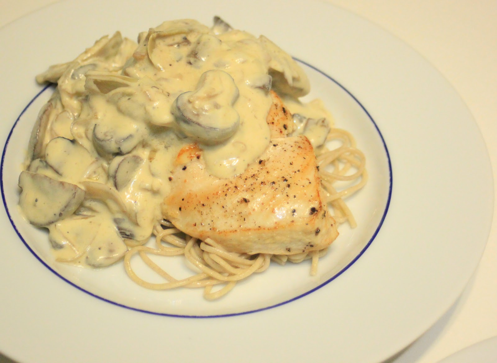 ... Fun: Dijon Chicken with Artichokes and Mushrooms over Soba Noodles