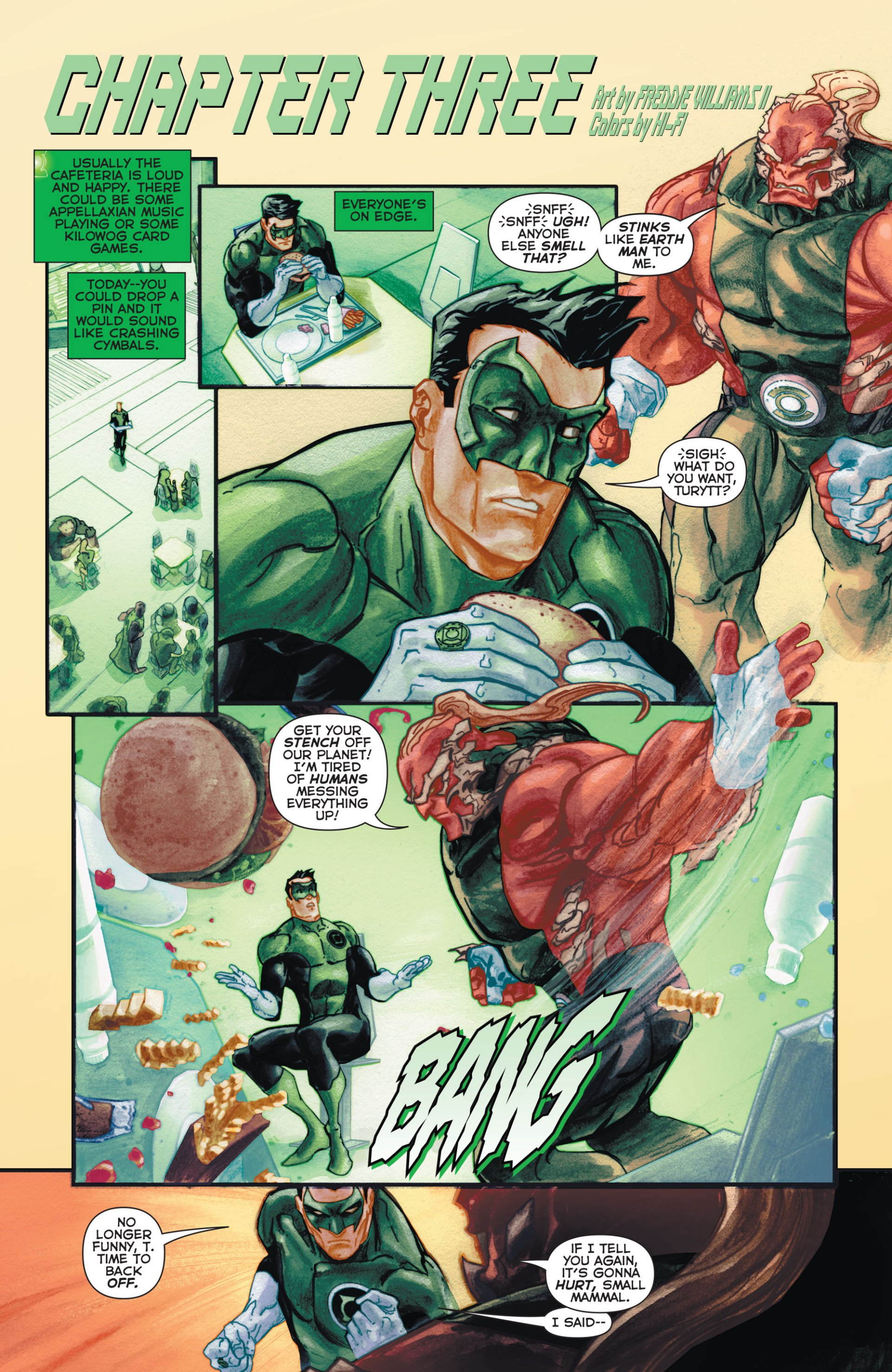 Read online Green Lantern Corps (2006) comic -  Issue #63 - 13