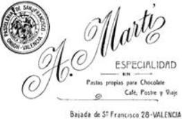 POSTRE MARTI