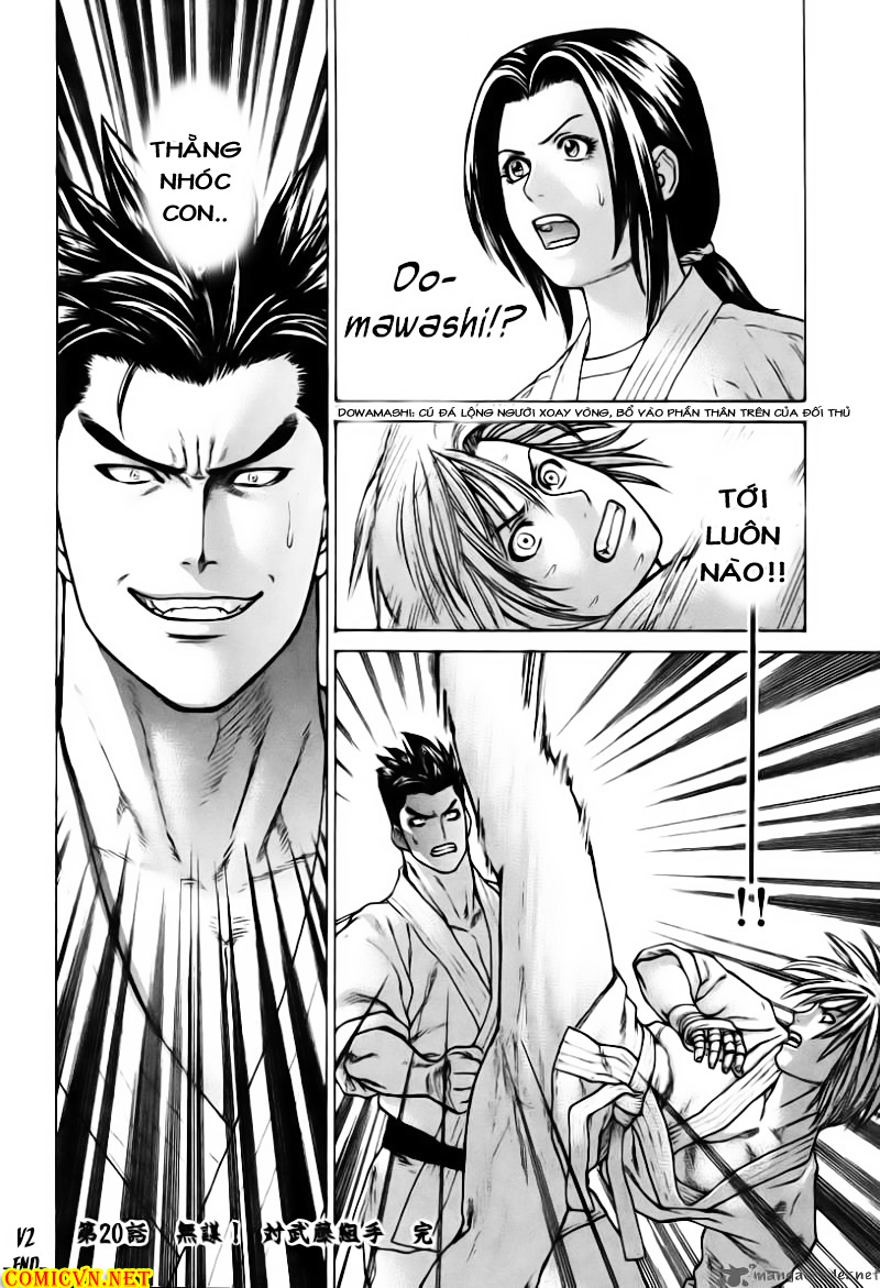 Karate Shoukoushi Kohinata Minoru chap 20 Trang 22