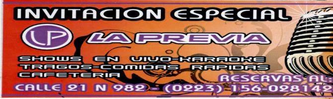 LA PREVIA: HOY 23.HS MAURICIO FRÍAS
