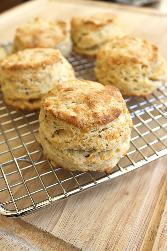 Caraway seed biscuits