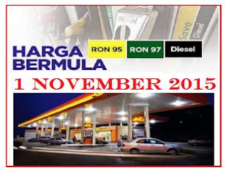 Harga Terkini Minyak Petrol Dan Diesel
