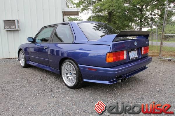 Daily Turismo: 39 of 50: Barbara: 1989 BMW M3, E30