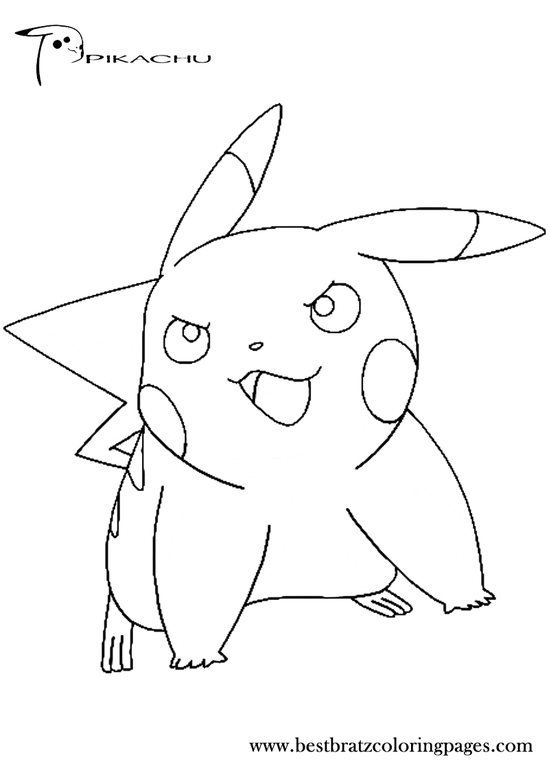 emo pikachu pokemon coloring pages images pokemon images