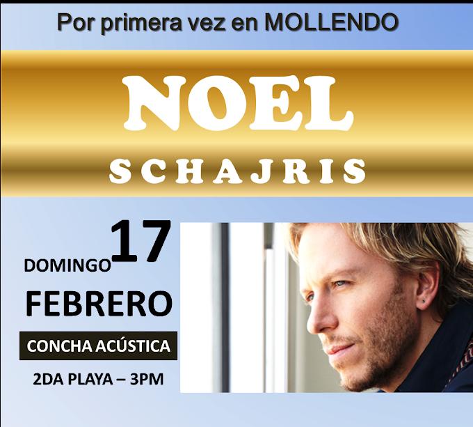 Noel Schajris en Arequipa (17 de febrero) - Cancelado