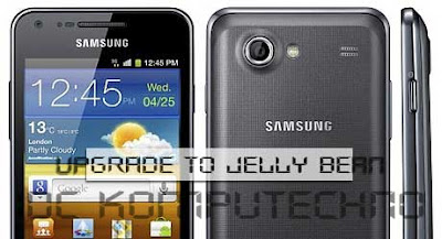 Cara Install manual Android 4.1.2 di Samsung Galaxy S Advance I9070 :