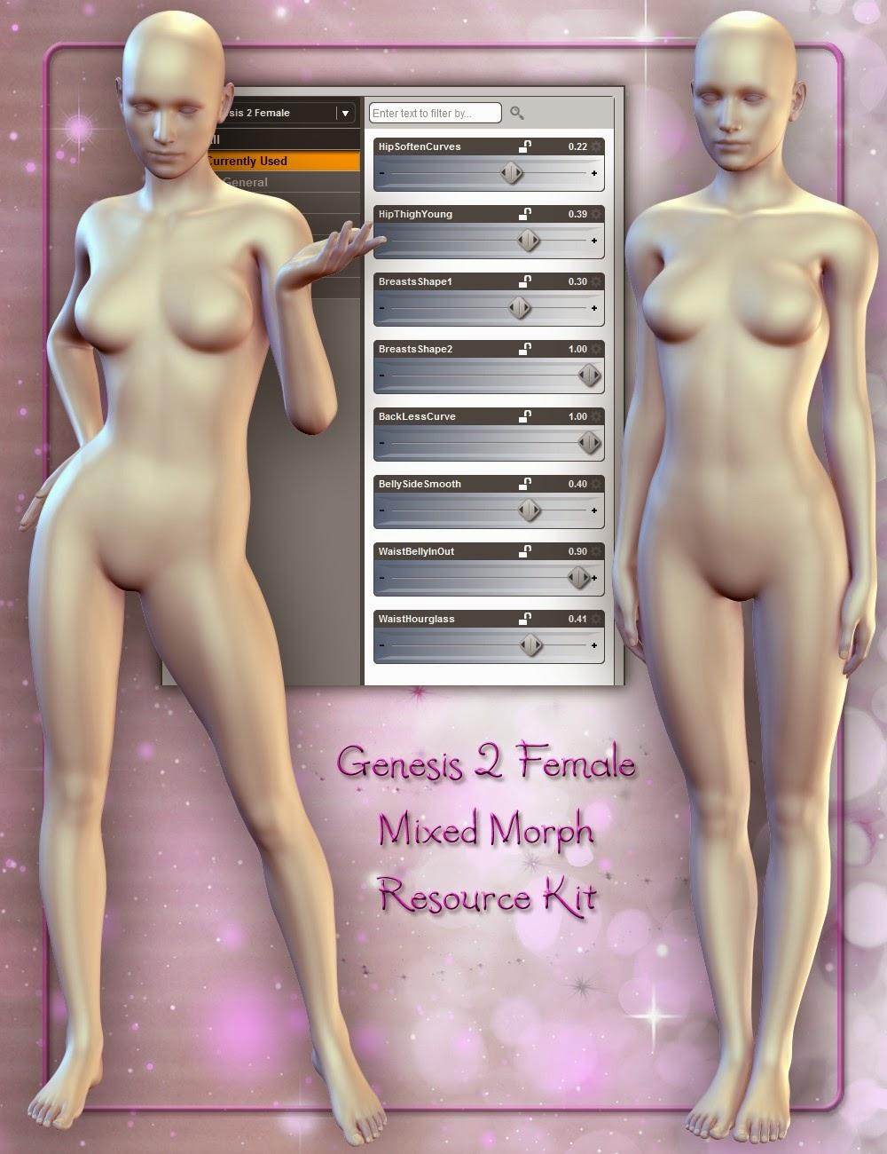 Kit Morph ressources Mixte Genèse 2 Femme