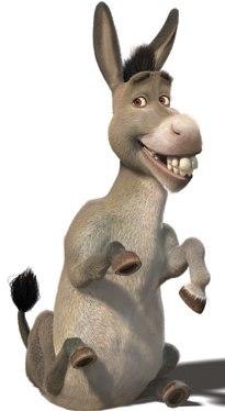 Burro (asno) de Shrek