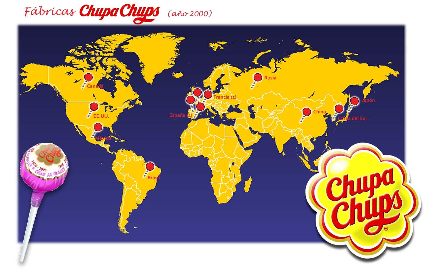 s a chupa chups Lo podemos decir bien orgullosos: chupa chups® es la primera, y única, marca de caramelos en llegar al espacio y dar la vuelta a la tierra.