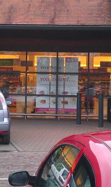 Oh Dear Waitrose surely you don't mean it?