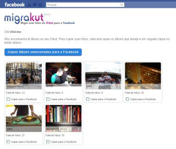 MigraKut1 Migrakut – transfira fotos do Orkut para o Facebook