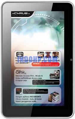 spesifikasi - harga  Atom CyrusPad 16 GB