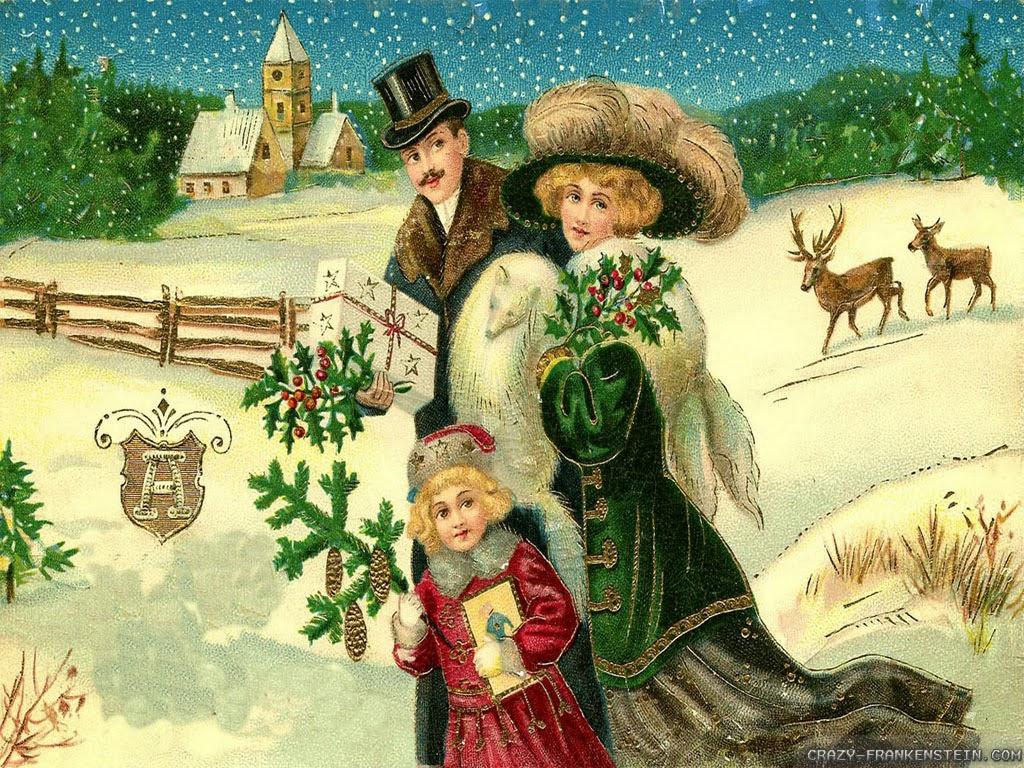 vintage christmas christmas wallpaper - Vintage Christmas Wallpaper