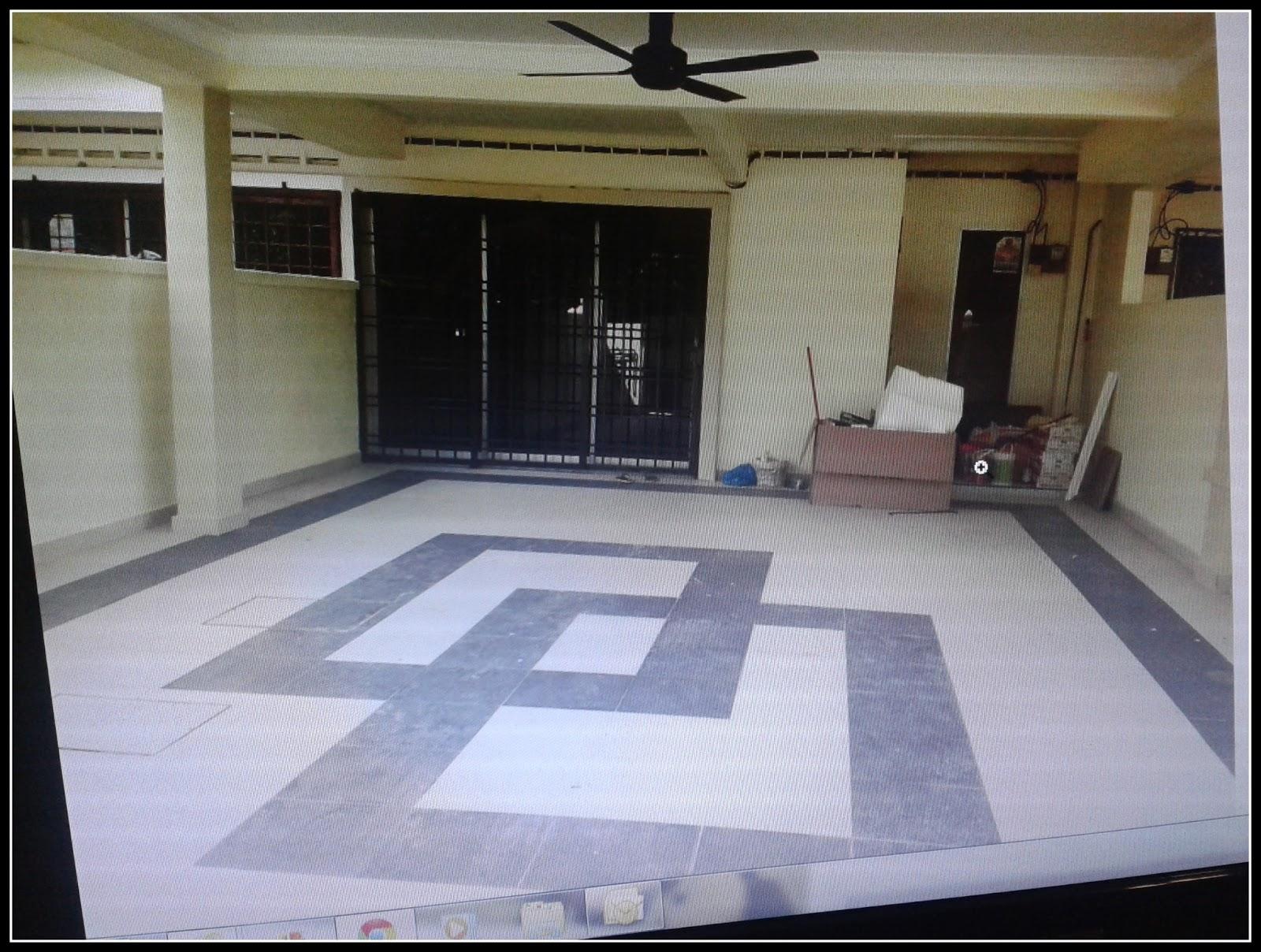 Renovate Rumah Kerja Memasang Jubin