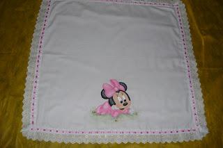 Manta de bebe em tecido de cueiro