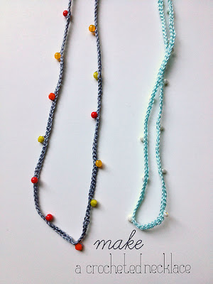 free crochet pattern beaded necklace