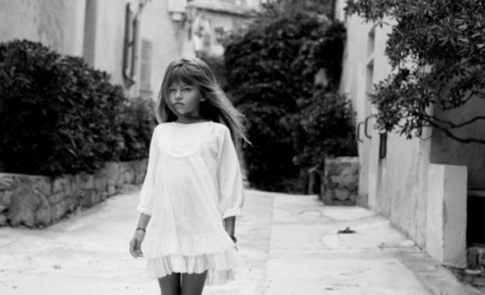 Юная француженка Тилан Блондо - далеко не новичок в модном мире: девочка сн
