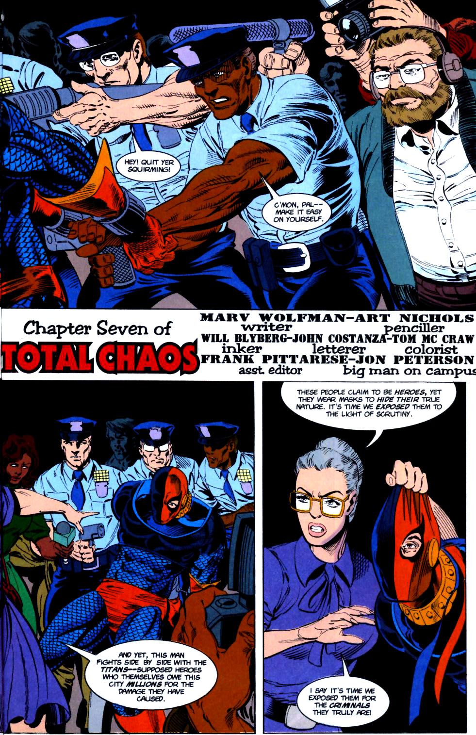 Deathstroke (1991) Issue #16 #21 - English 4