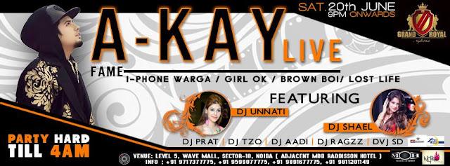 Super Saturday night at Grand Royal Noida