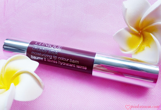Clinique Chubby Stick Moisturizing Lip Colour Balm Richer Raisin Review Pinkuroom