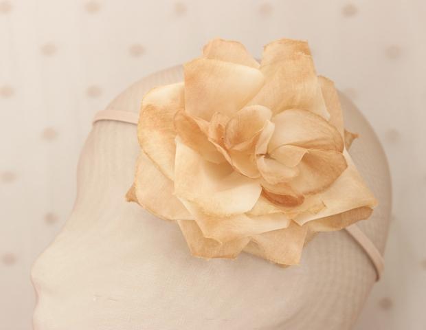 Colección La Cesta - Tiara Nude Flor