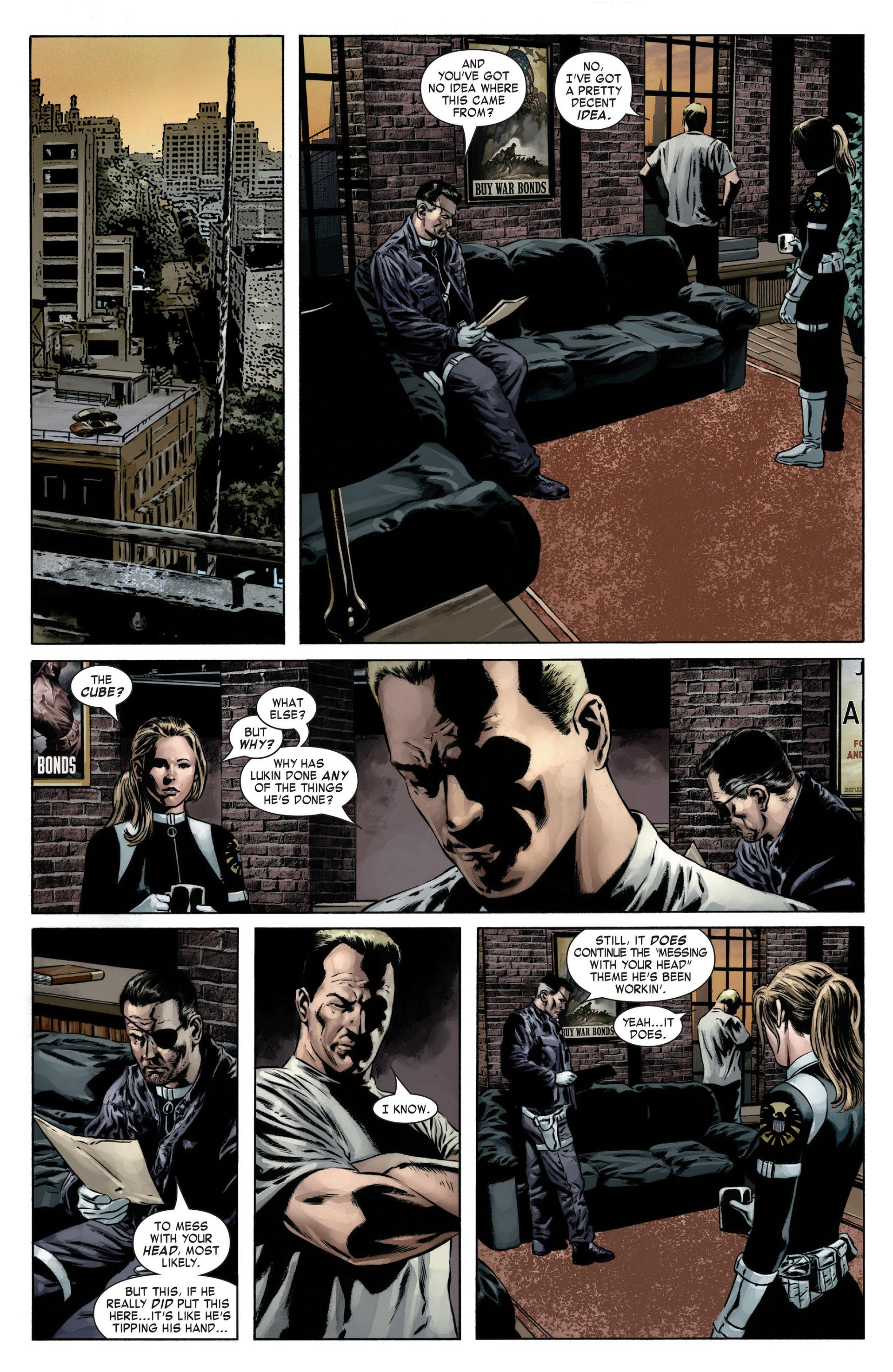 Captain America (2005) Issue #12 #12 - English 4