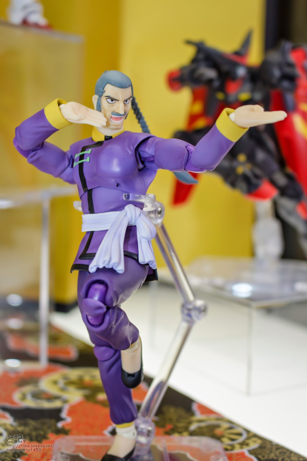 Gundam guy s h figuarts master asia on display for Domon kasshu gundam build fighters try