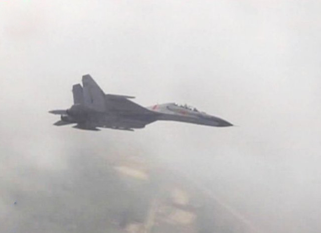 Sino Flanker and J-10 Fighter Jet Participate Airdefence in Exercise | Chinese Military Review