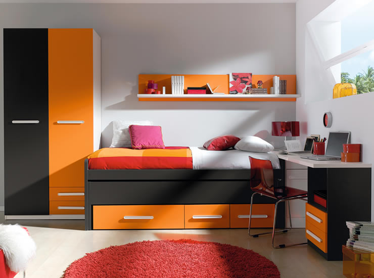 Colores para dormitorios juveniles - Decoguia - Tu guía de Decoración