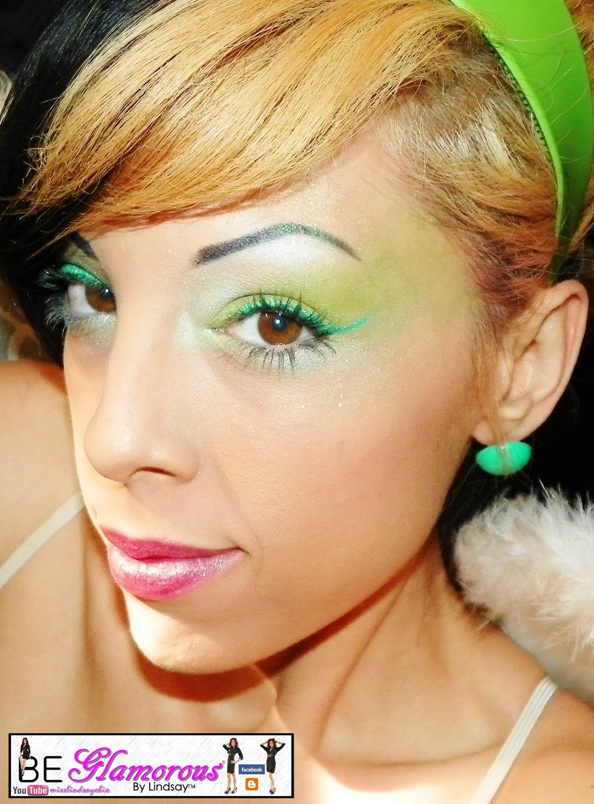 Be glamorous by lindsay green fairy makeup halloween tutorial elf brushes baditri Image collections