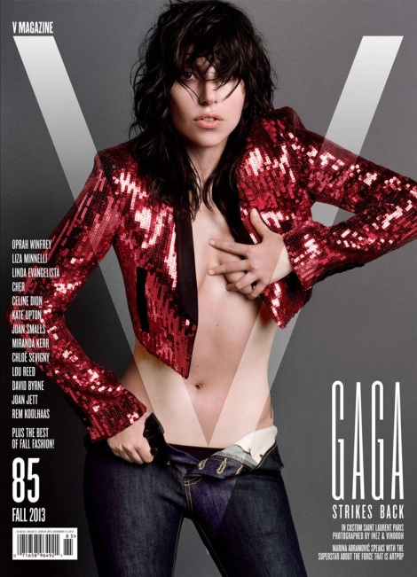 Lady Gaga V Magazine Cover No.85