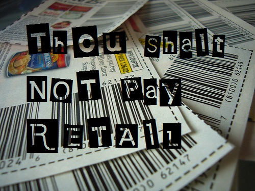 Thou Shalt Not Pay Retail