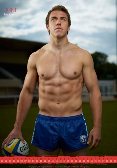 'Rugby's Finest' - 2012 • Chris Wyles • Rugby Union Player
