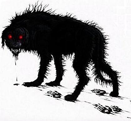 Ryū watashi ni shinjitsu o shimeshite kudasai (Arturo Lizárraga) [Fecha]   Black+dog+02