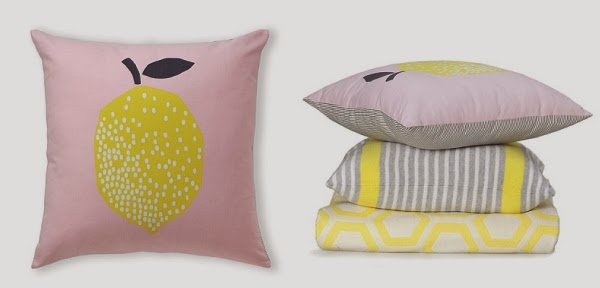 Country road limone cushion
