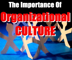the importance of organizational culture in an organization Change of culture in organizations is very important all of these categories together represent a person's knowledge of an organization organizational culture.